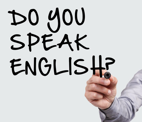 How many people speak English and why?